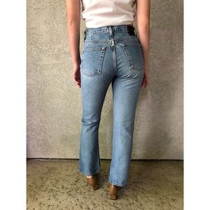 VINTAGE   Button fly 100% cotton denim jeans